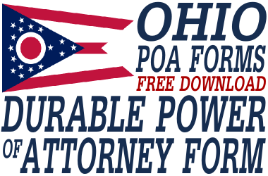 Ohio Durable Power of Attorney Form