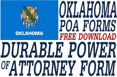 Oklahoma Durable Power of Attorney Form