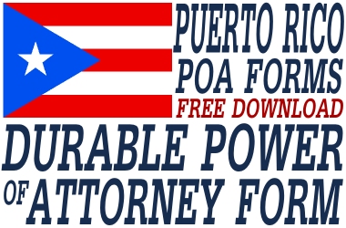 Puerto Rico Durable Power of Attorney Form