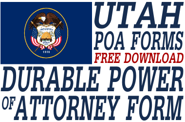 Utah Durable Power of Attorney Form